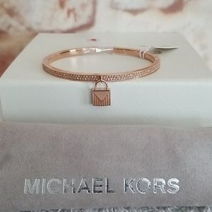 New Michael Kors Rose Stainless Steel Bracelet